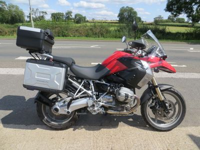 BMW R1200GS Adventure 1200 TU
