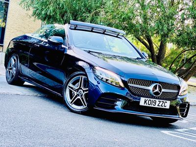 Mercedes-Benz C Class Convertible 1.5 C200 EQ Boost AMG Line Cabriolet G-Tronic+ (s/s) 2dr