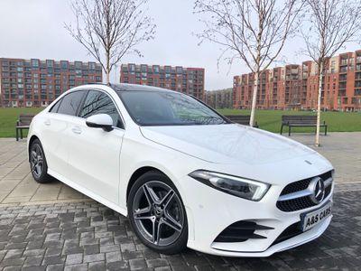 Mercedes-Benz A Class Saloon 1.5 A180d AMG Line (Premium Plus) 7G-DCT (s/s) 4dr