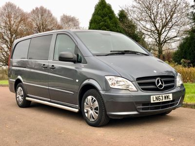 Mercedes-Benz Vito Other 2.1 113CDI Dualiner Long Panel Van 5dr (EU5)