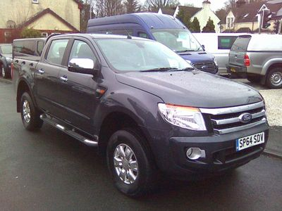 Ford Ranger Pickup 2.2 TDCi XLT Double Cab Pickup 4x4 4dr (EU5)