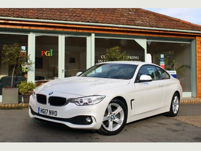 BMW 4 Series Coupe 2.0 418d SE Auto 2dr