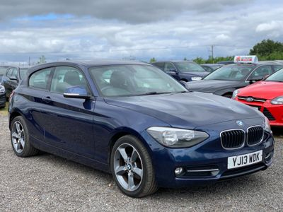 BMW 1 Series Hatchback 2.0 118d Sport Sports Hatch 3dr