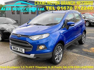 Ford EcoSport SUV 1.5 Ti-VCT Titanium X (X Pack) 5dr