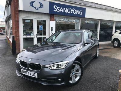 BMW 3 Series Saloon 2.0 330e 7.6kWh Sport Auto (s/s) 4dr