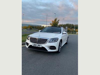 Mercedes-Benz S Class Saloon 3.0 S350L d AMG Line (Premium) G-Tronic+ (s/s) 4dr