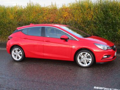 Vauxhall Astra Hatchback 1.6 CDTi BlueInjection SRi Nav Auto 5dr