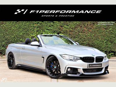 BMW 4 Series Convertible 3.0 435d M Sport xDrive 2dr