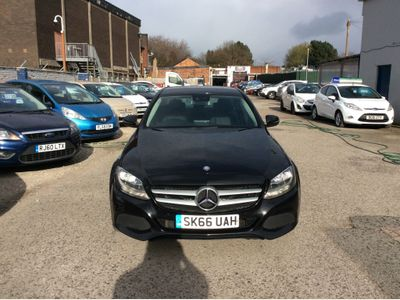 Mercedes-Benz C Class Saloon 2.1 C220d SE Executive Edition (s/s) 4dr
