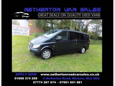 Mercedes-Benz Vito Other 2.1 111CDI Traveliner Extra Long Bus 5dr (9 Seats)