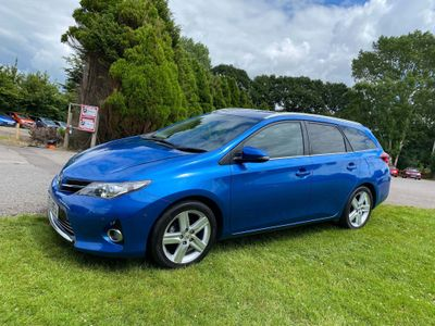 Toyota Auris Estate 1.6 V-Matic Excel M-Drive S 5dr