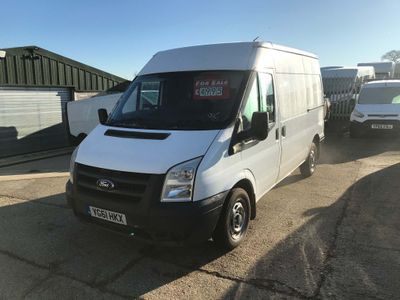 Ford Transit Panel Van 2.2 TDCi 280 M Medium Roof Van Duratorq 3dr (MWB)