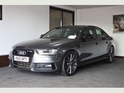 Audi A4 Saloon 2.0 TDI Black Edition Plus 4dr