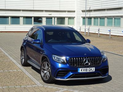 Mercedes-Benz GLC Class Coupe 4.0 GLC63 V8 BiTurbo AMG (Premium) SpdS MCT 4MATIC+ (s/s) 5dr