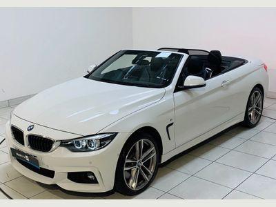 BMW 4 Series Convertible 3.0 435d M Sport Auto xDrive (s/s) 2dr