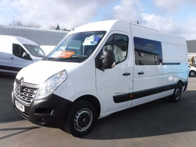 Renault Master Panel Van 2.3 dCi 35 Business FWD LWB Medium Roof EU5 5dr