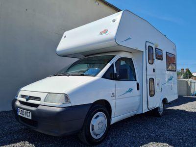 NU Venture Rio quattro Coach Built Fiat scudo