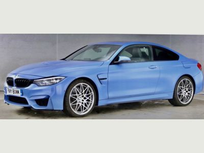 BMW M4 Coupe 3.0 BiTurbo Competition DCT (s/s) 2dr