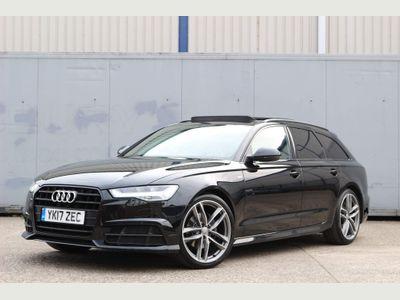 Audi A6 Avant Estate 2.0 TDI ultra Black Edition Avant S Tronic (s/s) 5dr