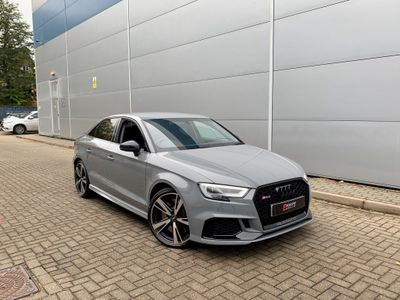 Audi RS3 Saloon 2.5 TFSI S Tronic quattro (s/s) 4dr