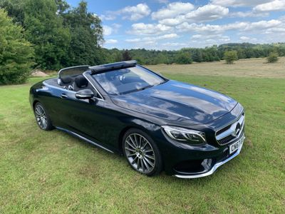 Mercedes-Benz S Class Convertible 4.7 S500 V8 AMG Line (Premium) Cabriolet G-Tronic (s/s) 2dr