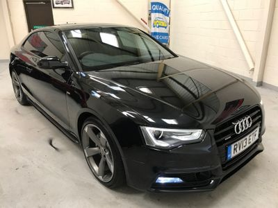 Audi A5 Coupe 2.0 TFSI Black Edition S Tronic quattro 2dr