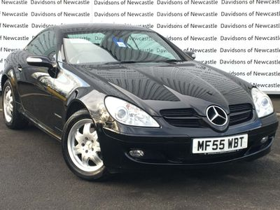 Mercedes-Benz SLK Convertible 200 KOMPRESSOR
