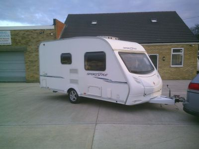 Swift Sportstyle Tourer LIGHT WEIGHT 2007 2 BERTH