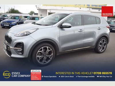 Kia Sportage SUV 1.6 T-GDi GT-Line DCT AWD (s/s) 5dr