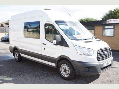 Ford Transit Combi Van Mobile Welfare Van 335 LWB H2 2.2