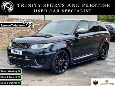 Land Rover Range Rover Sport SUV 4.4 SD V8 Autobiography Dynamic Auto 4WD 5dr