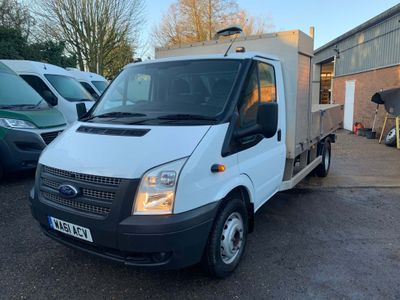 Ford Transit Dropside 460 EF 155 BHP DROPSIDE LORRY HGV
