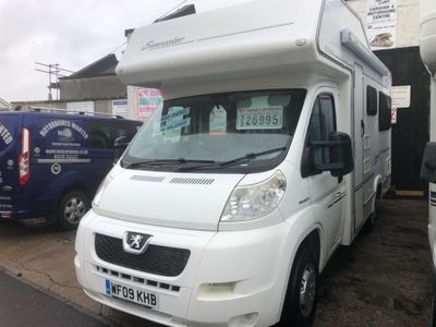 Elddis Sorry now sold Coach Built Peugeot boxer