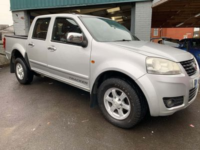 Great Wall Steed Pickup 2.0 TD Tracker Pickup 4X4 4dr