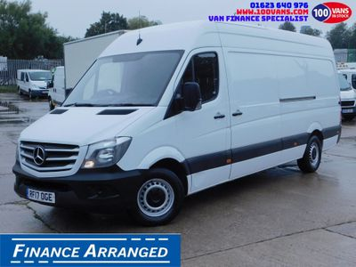 Mercedes-Benz Sprinter Panel Van 2.1CDI 314 140PS LWB PREMIUM EDITION