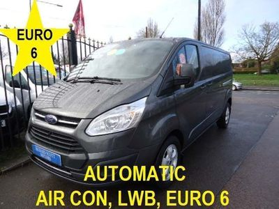 Ford Transit Custom Panel Van 2.0 TDCi 290 Limited Auto L2 H1 5dr
