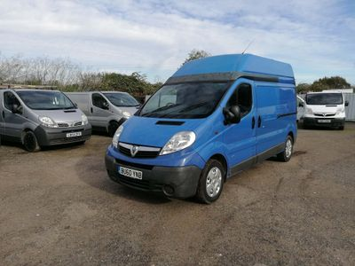Vauxhall Vivaro Panel Van 2.0 CDTi 2900 High Roof 4dr (EU4, LWB)