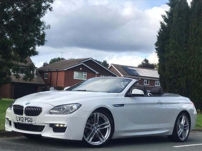 BMW 6 Series Convertible 3.0 640i M Sport 2dr