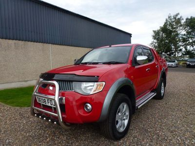 MITSUBISHI L200 Pickup 2.5 DI-D Warrior Double Cab Pickup 4WD 4dr