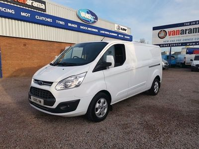 Ford Transit Custom Panel Van 290 Limited L2h1