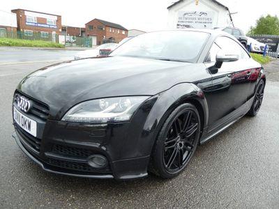 Audi TTS Coupe 2.0 TFSI Black Edition quattro 3dr