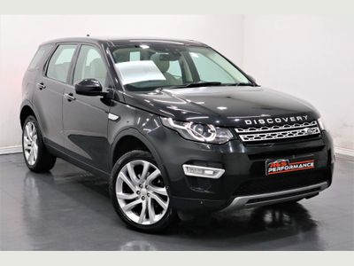 Land Rover Discovery Sport SUV 2.2 SD4 HSE Luxury Auto 4WD (s/s) 5dr