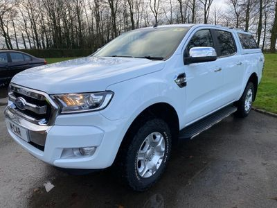Ford Ranger Pickup 2.2 TDCi Limited 1 Double Cab Pickup Auto 4WD (s/s) 4dr