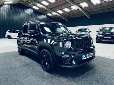 Jeep Renegade SUV 1.3 GSE T4 Night Eagle DDCT (s/s) 5dr