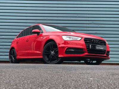 Audi A3 Hatchback 1.6 TDI S line Sportback S Tronic 5dr