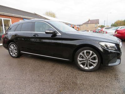 Mercedes-Benz C Class Estate 2.1 C220 CDI BlueTEC Sport (s/s) 5dr