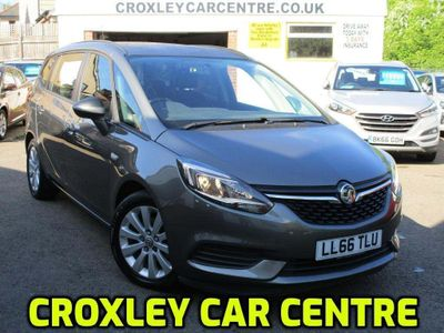 Vauxhall Zafira Tourer MPV 1.4i Turbo Design Tourer 5dr