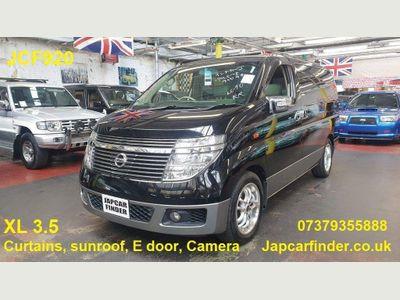 Nissan Elgrand MPV XL 4WD CAPTAIN SEATS SUNROOF LEATHER