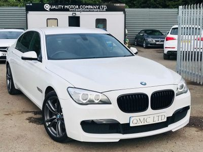 BMW 7 Series Saloon 3.0 730Ld BluePerformance M Sport (s/s) 4dr
