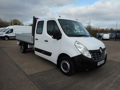 Renault Master Dropside 2.3 dCi 35 Business Double Cab Chassis Cab FWD LWB EU6 4dr